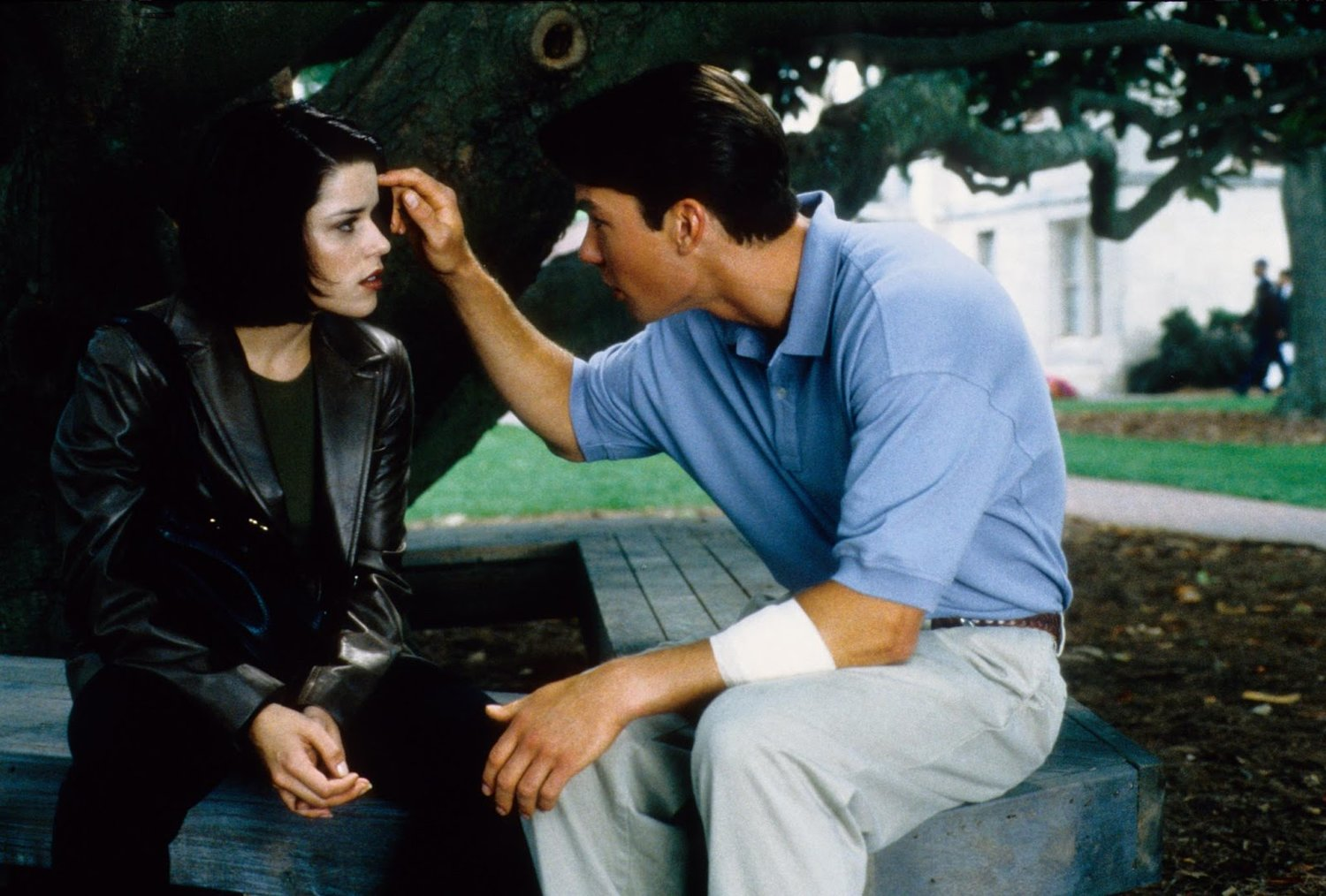 SCREAM 2 (1997) starring Jerry O'Connell & Neve Campbell // Woods Entertainment.