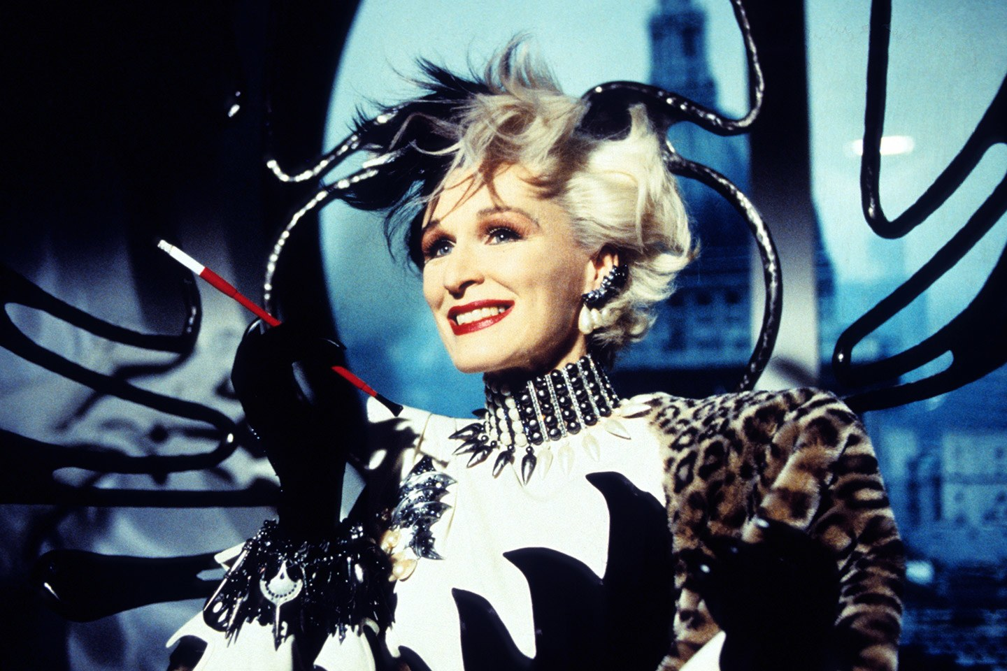 The female villains list, Cruella De Vil.