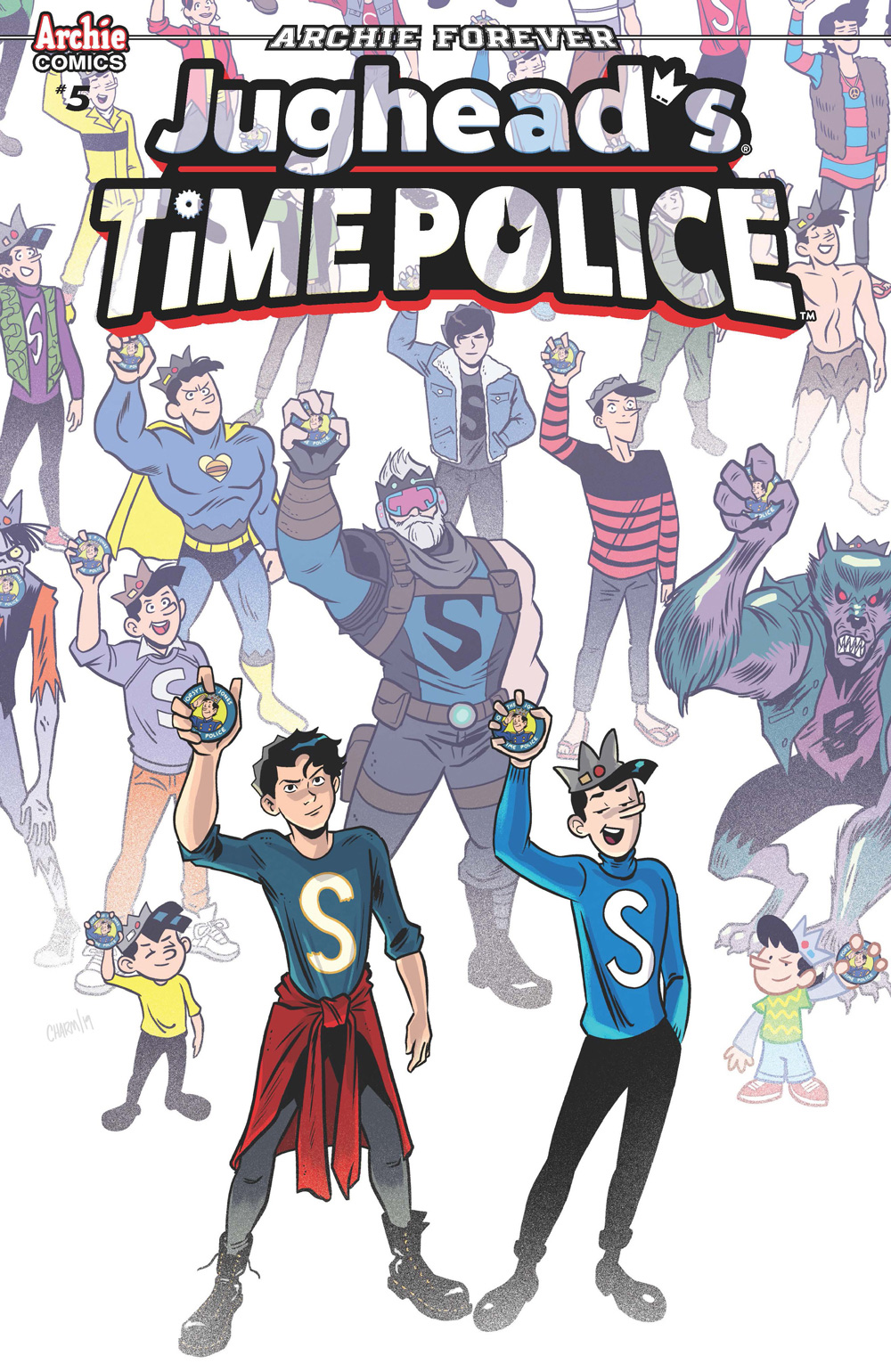 A variant cover of the newest issue.