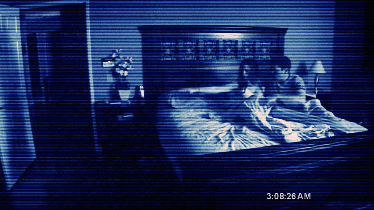 Halloween: Paranormal Activity, 2007, Oren Peli & Jason Blum.