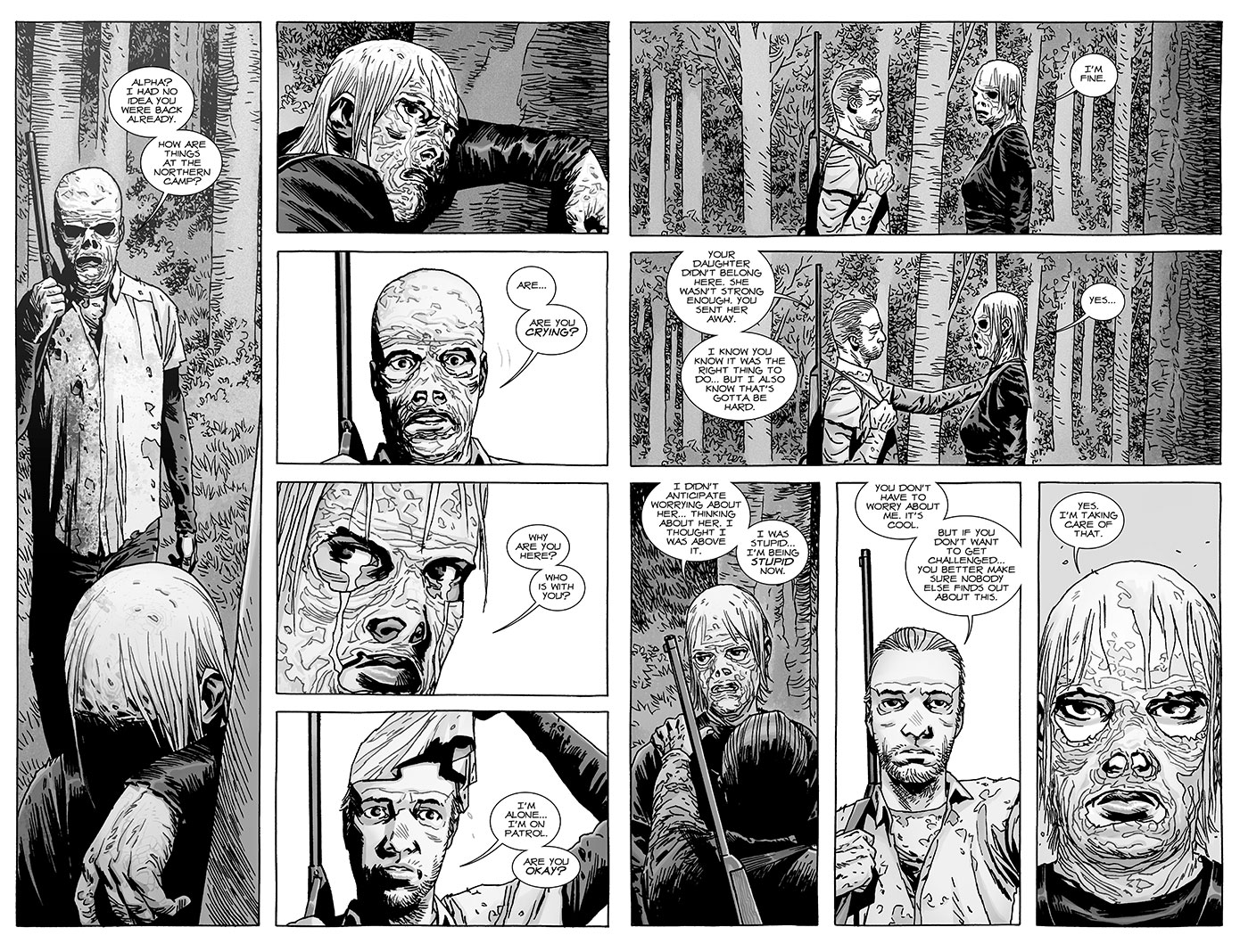 The Whisperer's Leader, Alpha from issue #148 of TWD