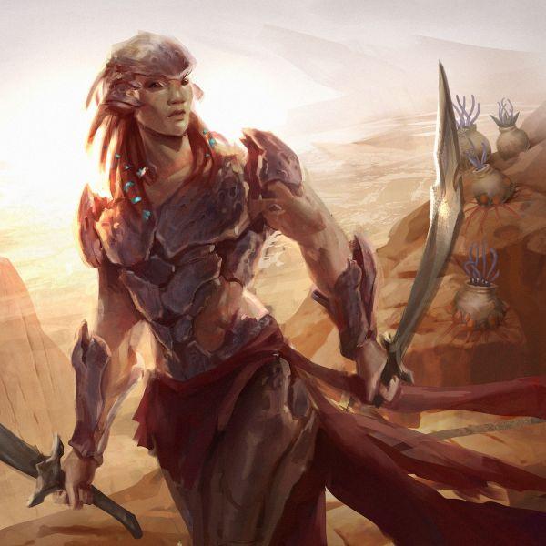Eshonai from Brandon Sanderson's Stormlight series