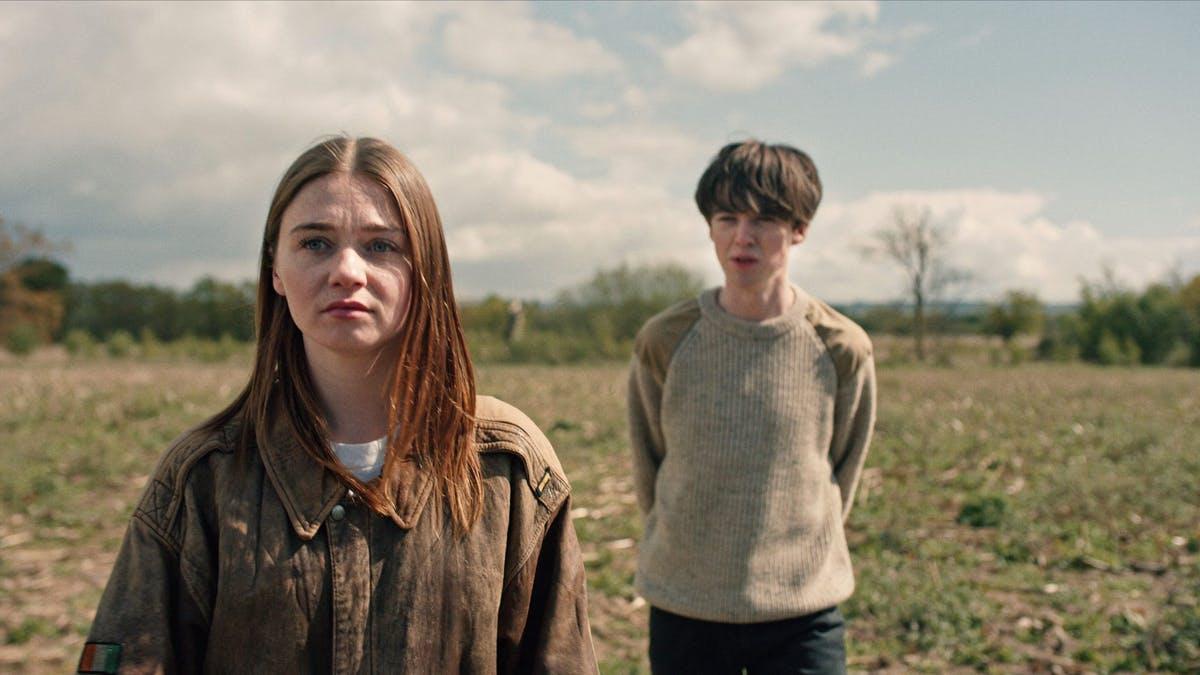 Alyssa and James in the Netflix Original Series on Netflix (2019).