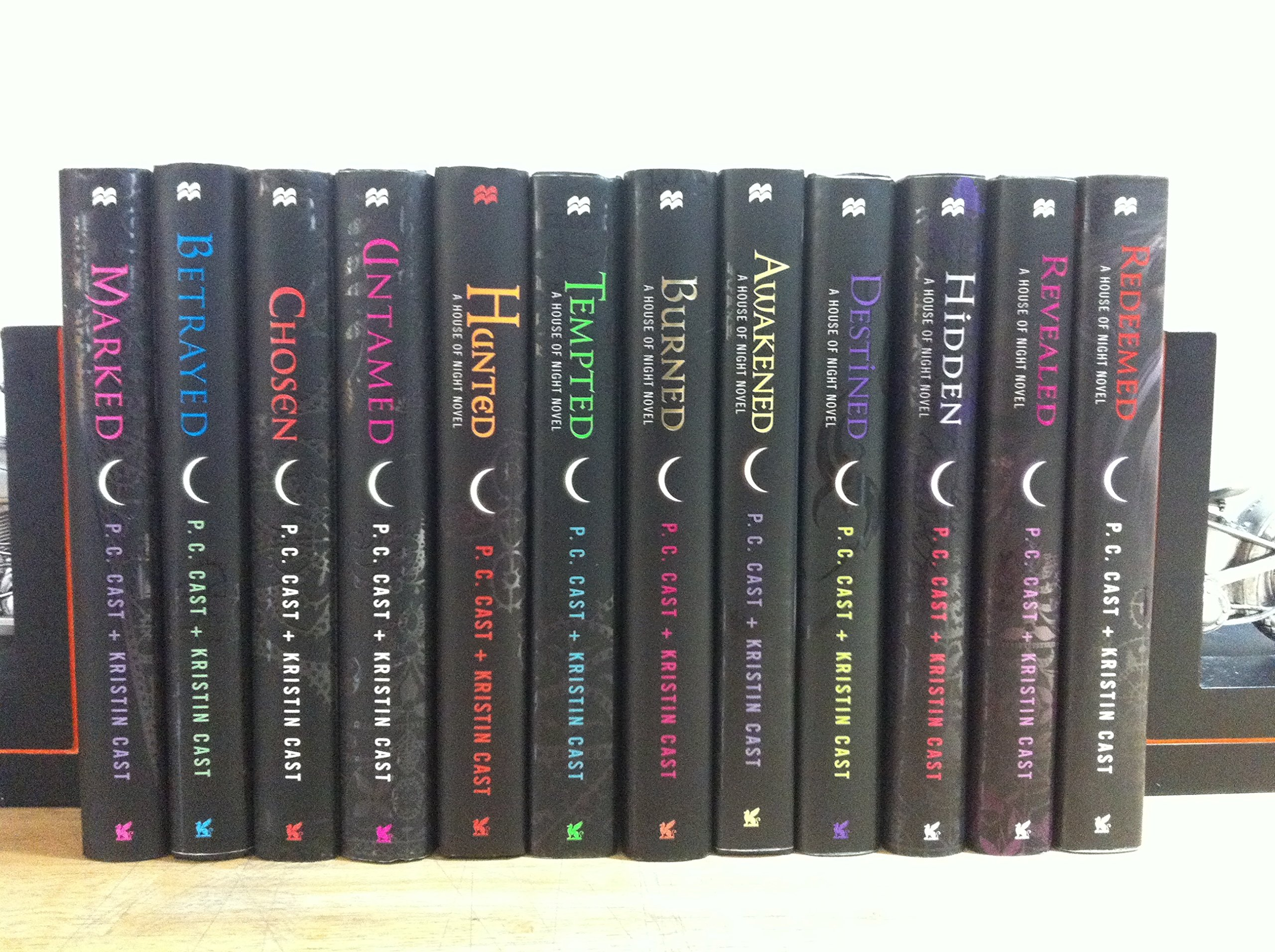 The vampire book series for House of Night.
