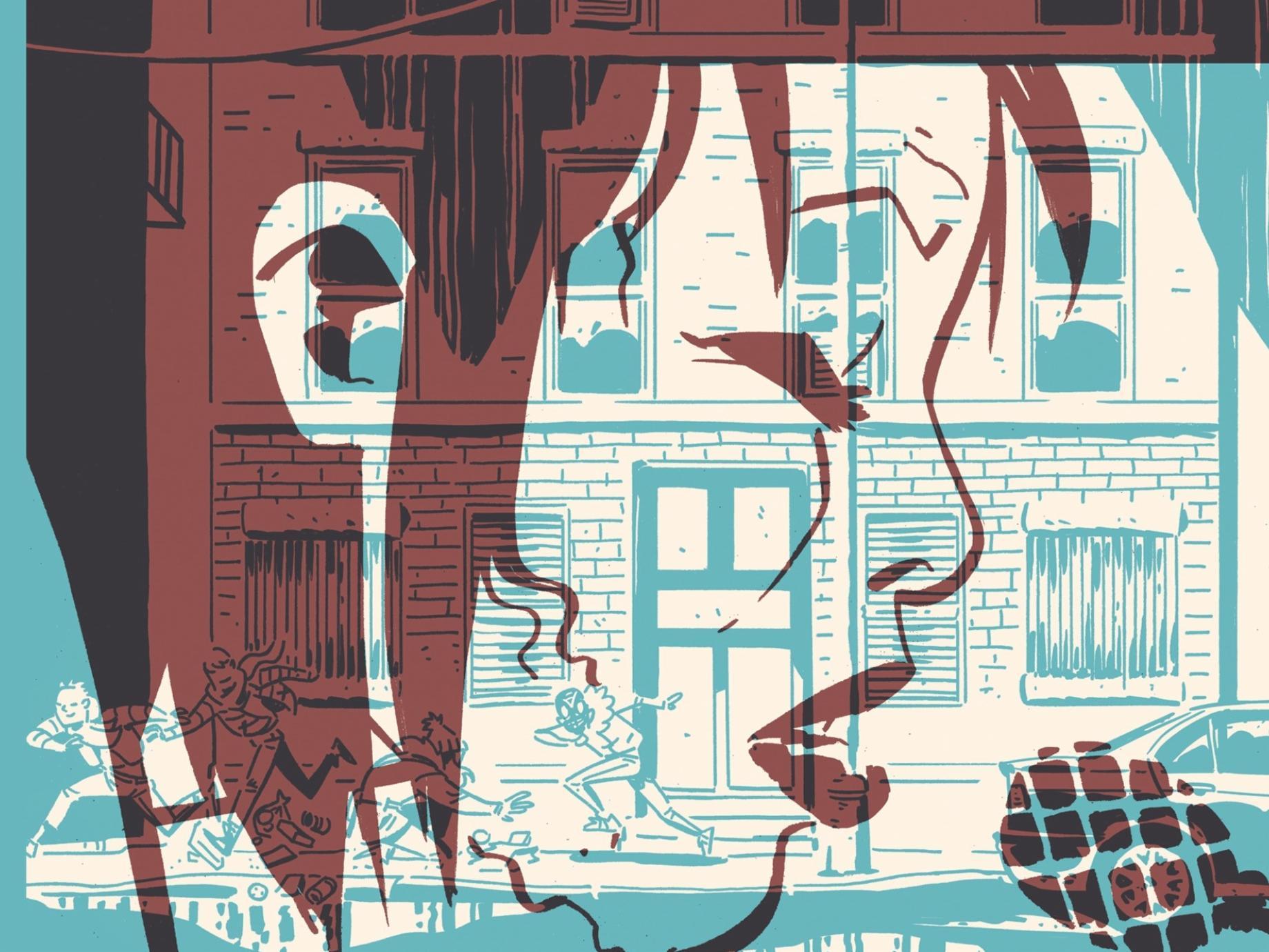 November Book 1 Cover under Image Comics, 2019.