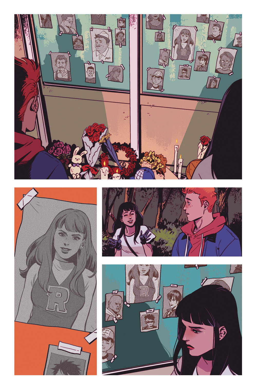 Page 3: New Blood #1, Archie Comics 2019.