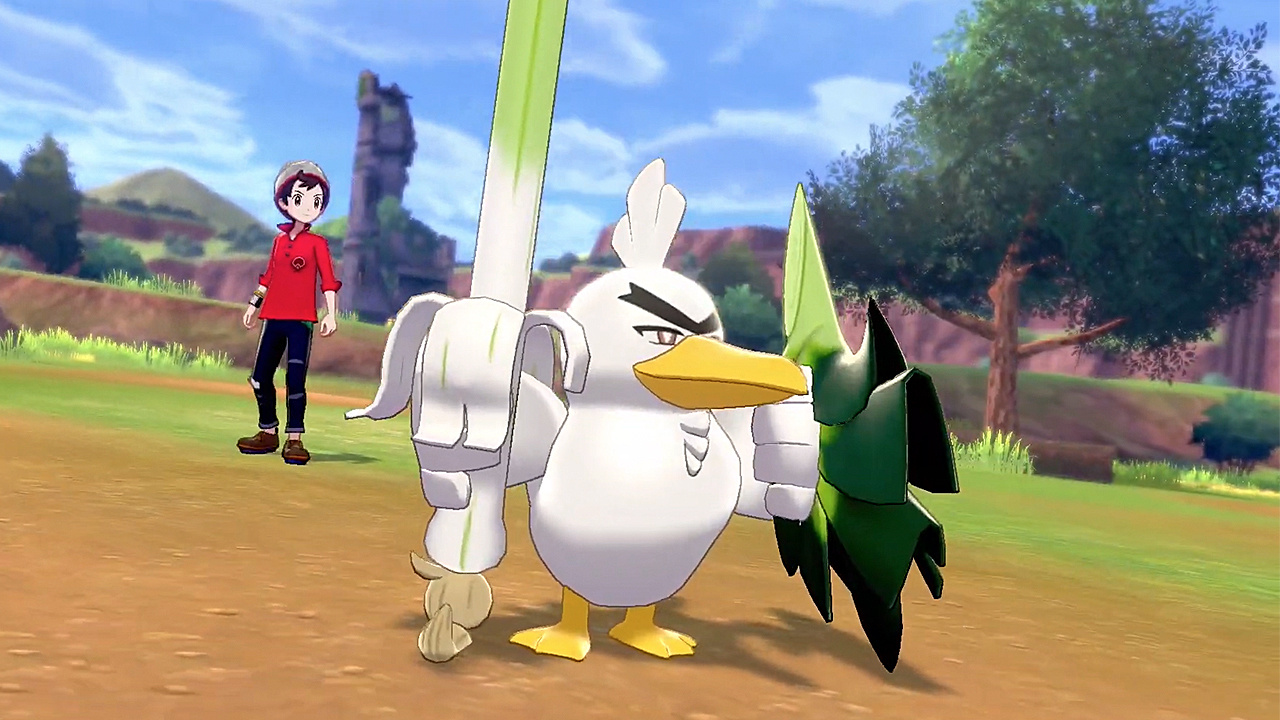 Sirfetch'd from Pokémon: Sword and Shield