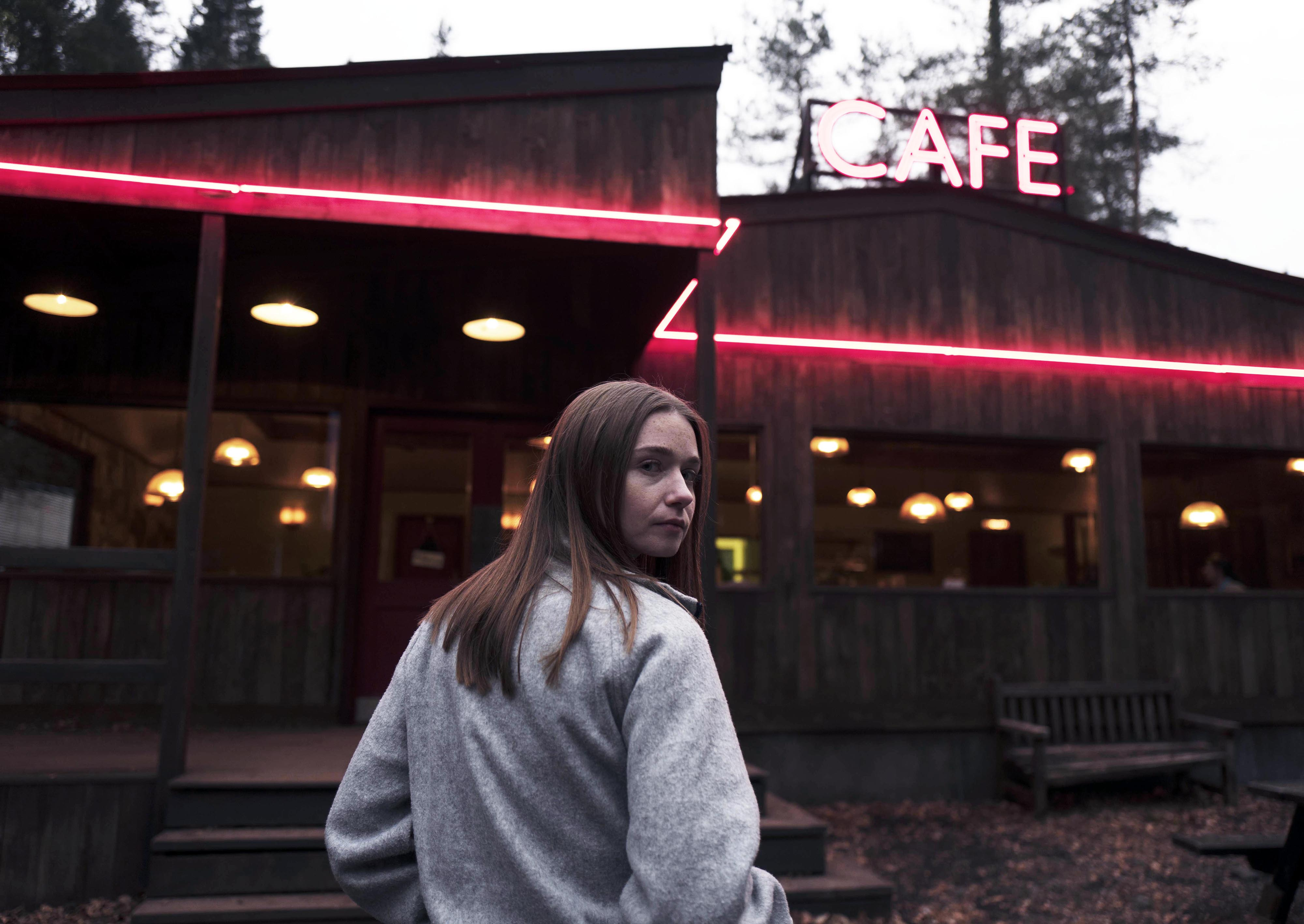 Jessica Barden as (Alyssa) in THE END OF THE FUCKING WORLD 2 on Netflix, 2019.