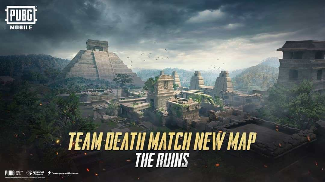 PUBG Mobile introduces a new TDM map, The Ruins.