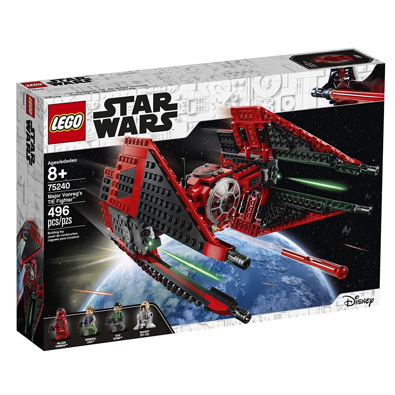 Lego Star Wars Major Vonre's TIE Fighter set, Star Wars Gifts.