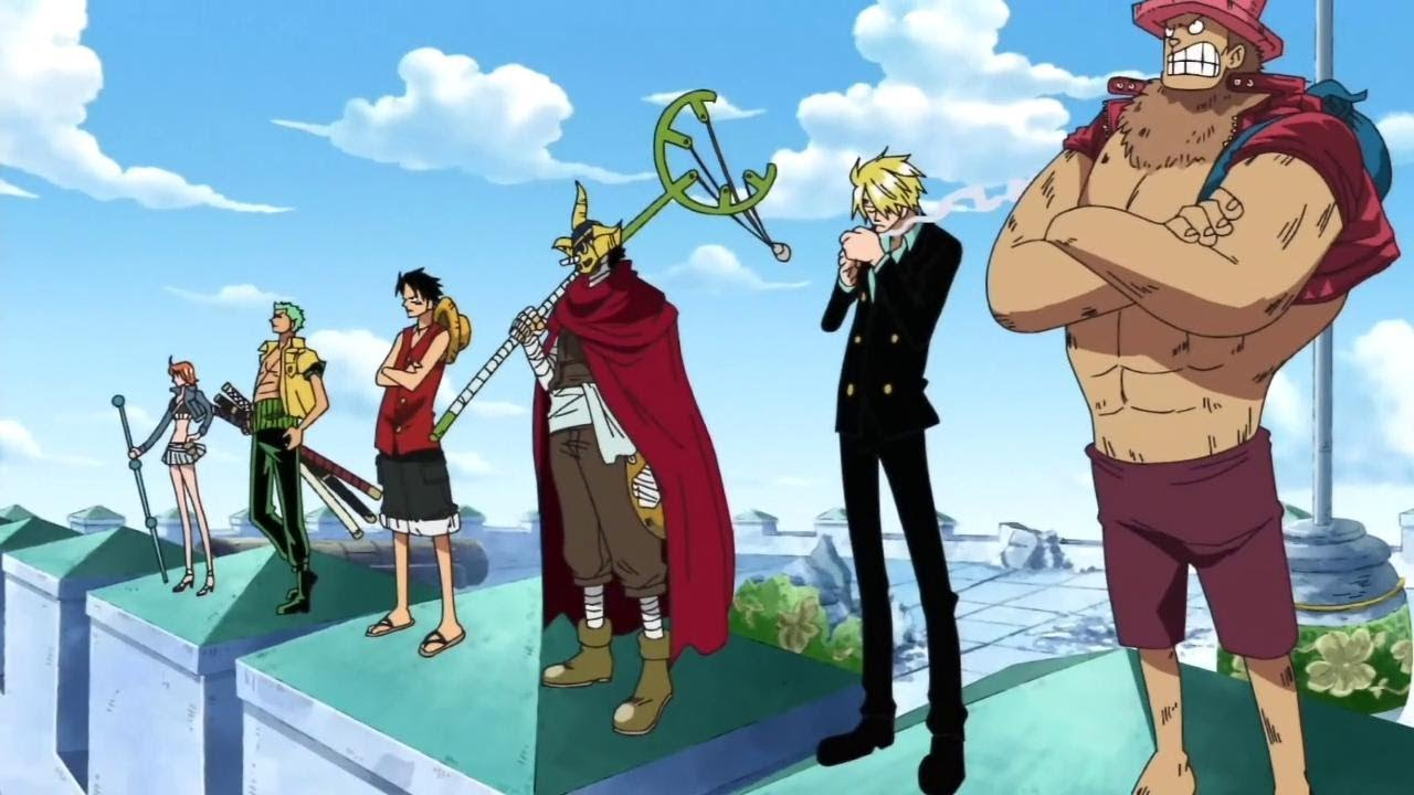 The Straw Hats prepare to rescue Robin at Enies Lobby.