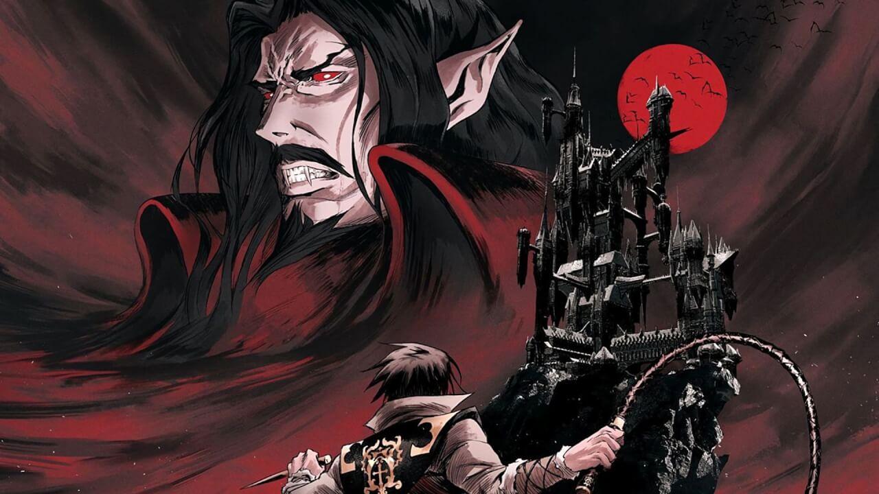 A promo image for Castlevania