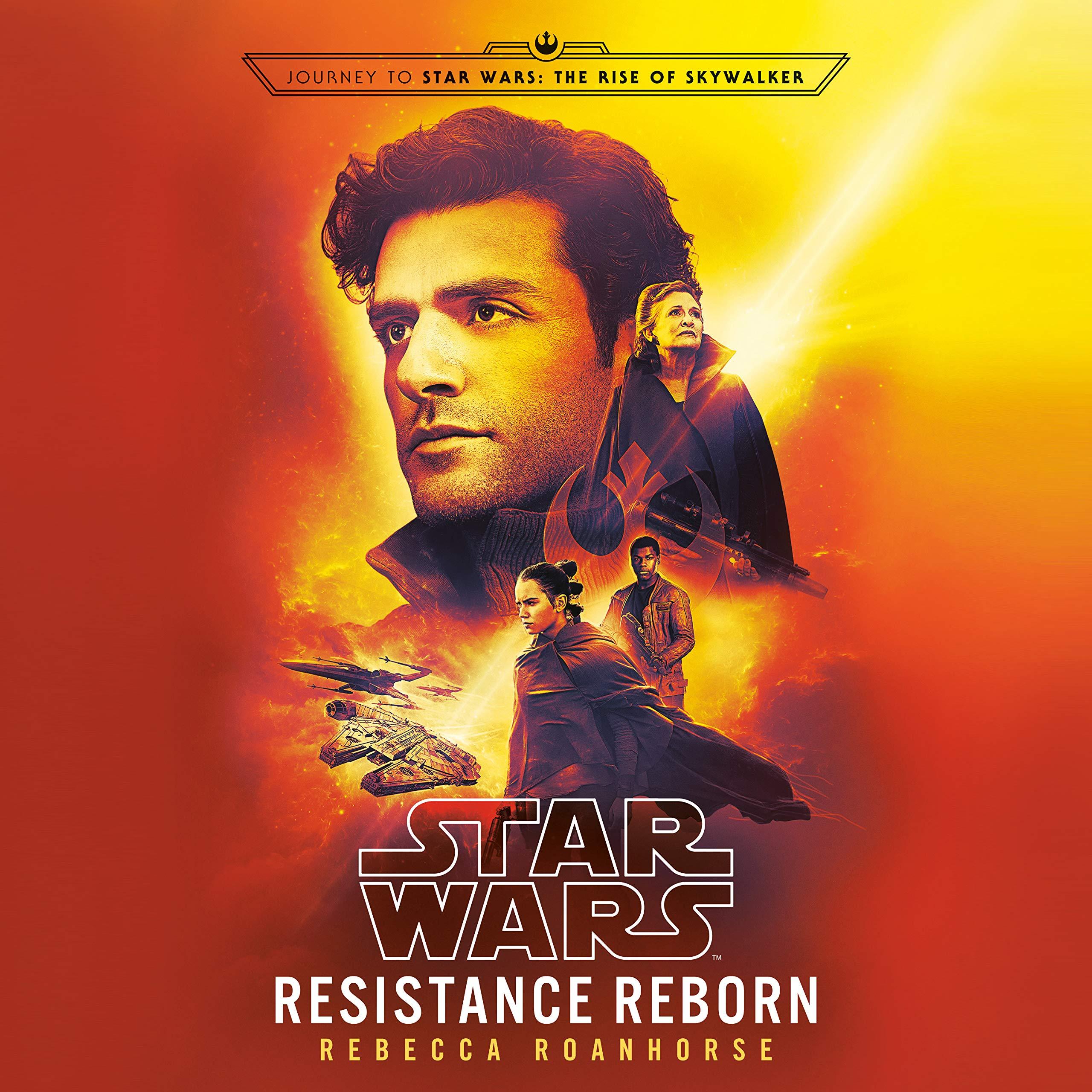 Star Wars Resistance Reborn book cover.
