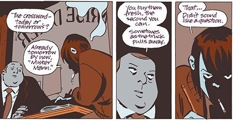 November Volume I, Page 7, Image Comics (2019).