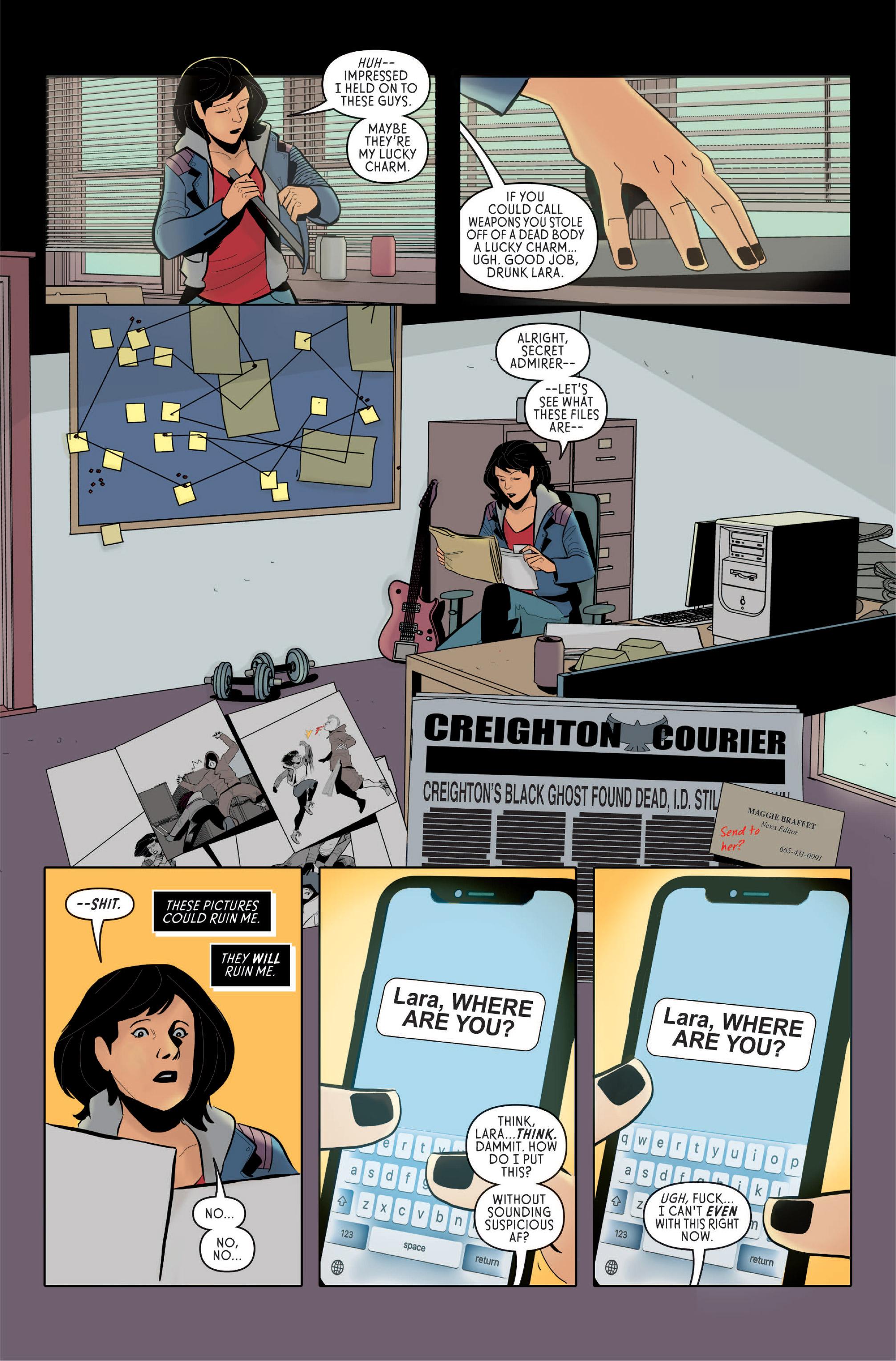 Page 13, New Wave Comics, 2019.