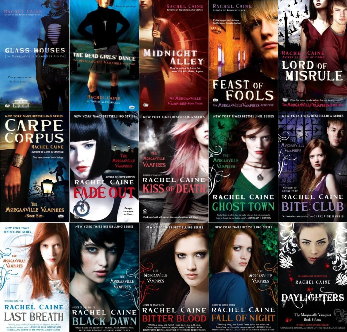 The Vampyre book series for Glass Houses.