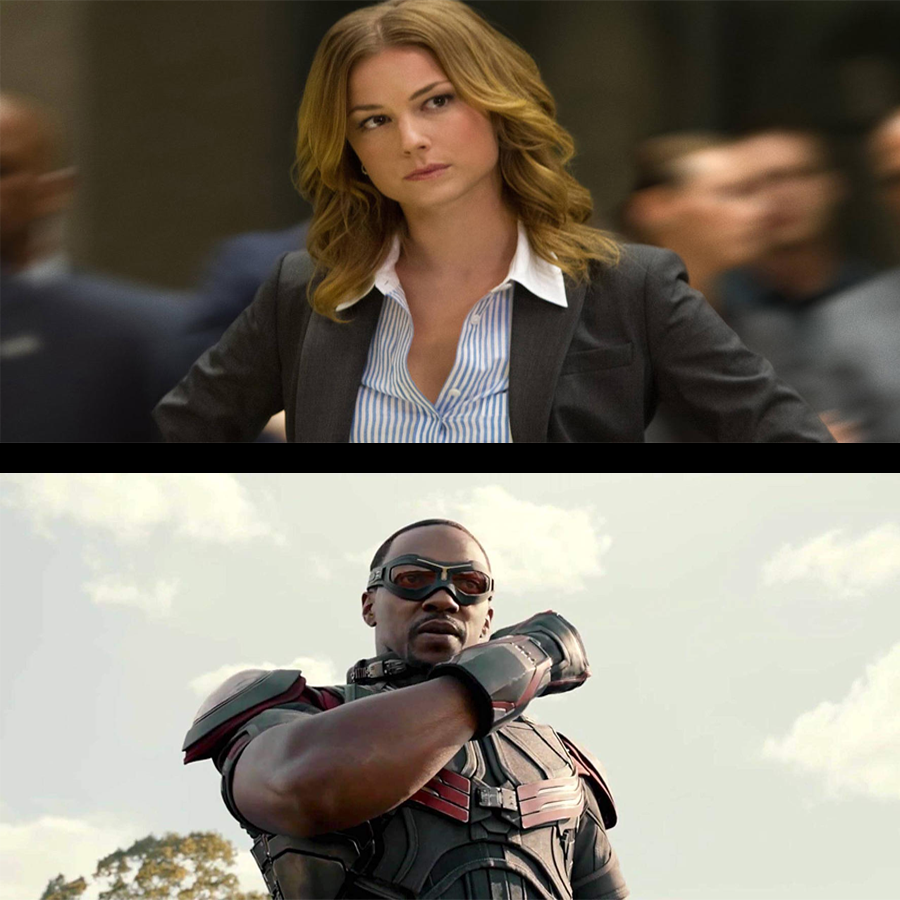 Sharon Carter/Sam Wilson