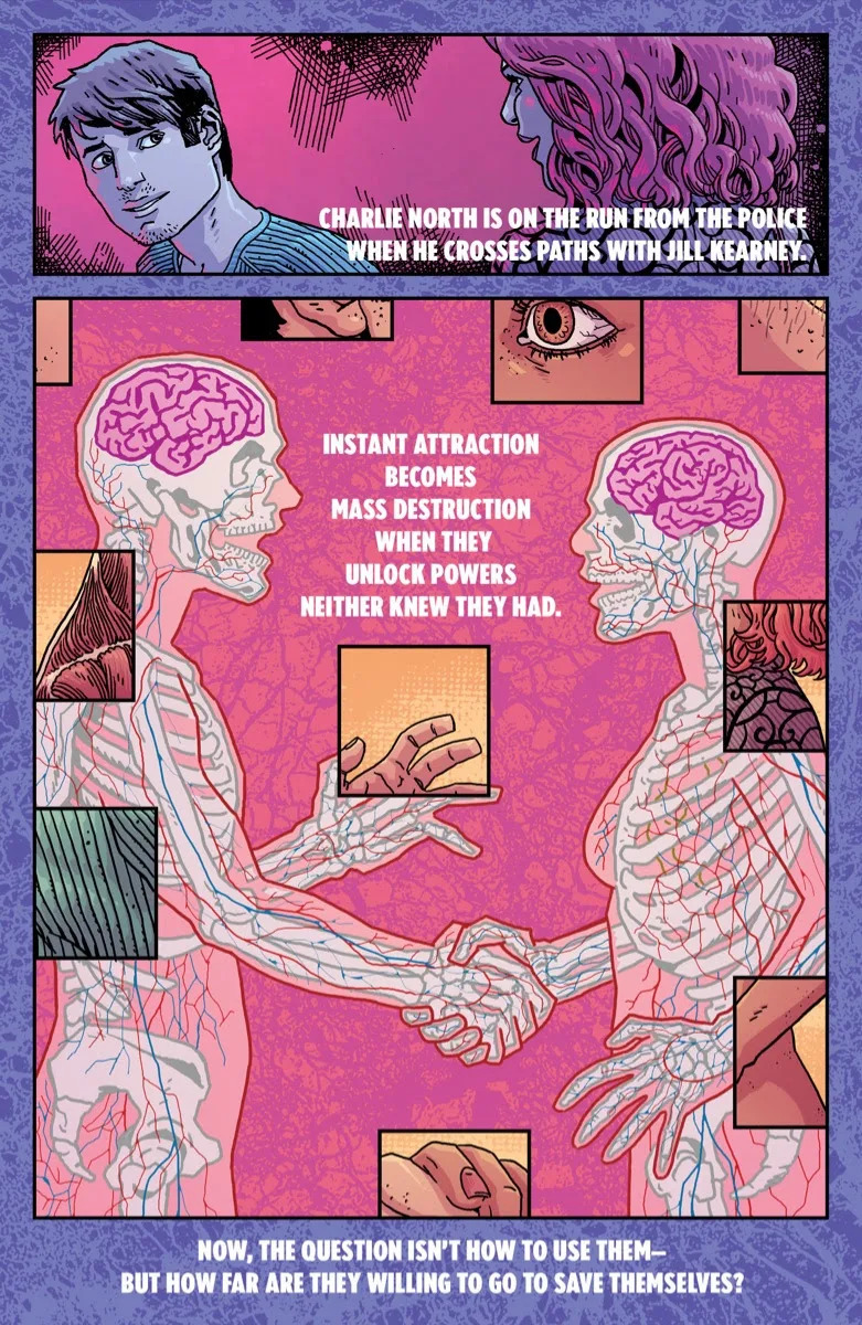 An advertisement for Heart Attack #1 featuring the body artwork from the comic.
