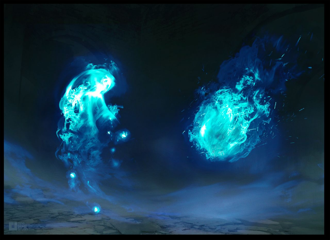 Mythical Creature: Will-O-Wisps