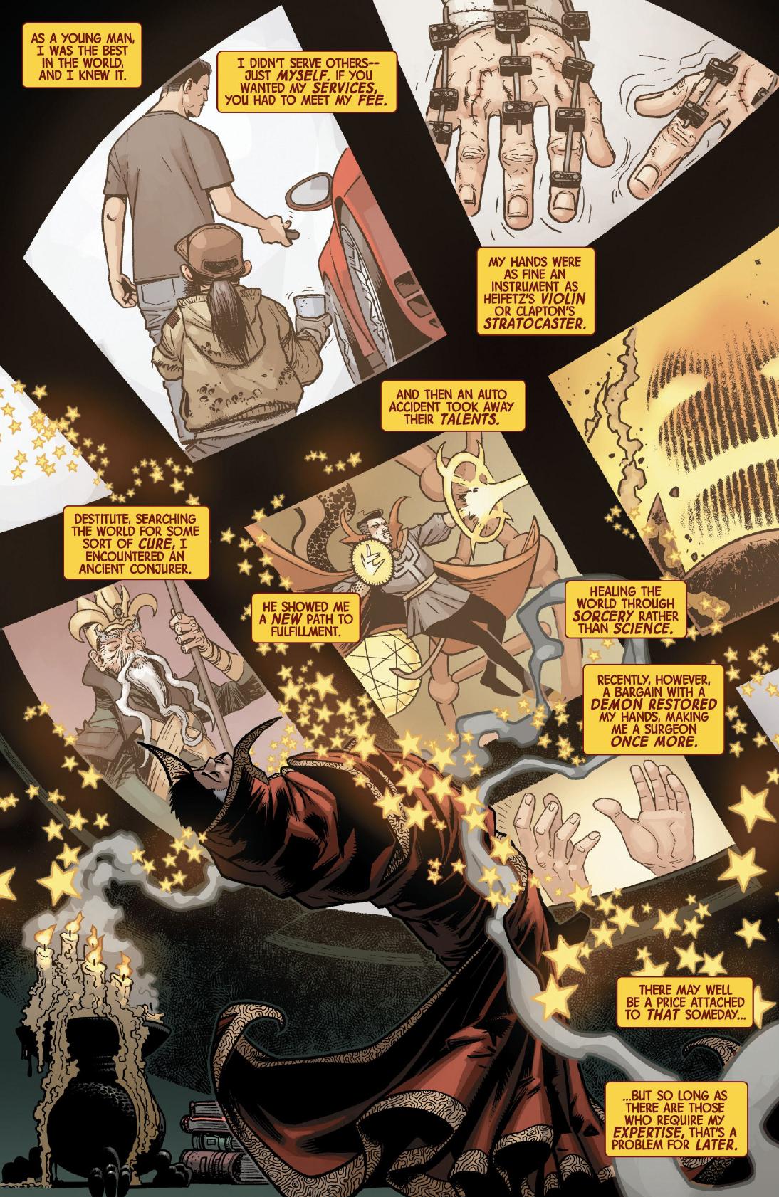 Page 7 of Dr. Strange #1