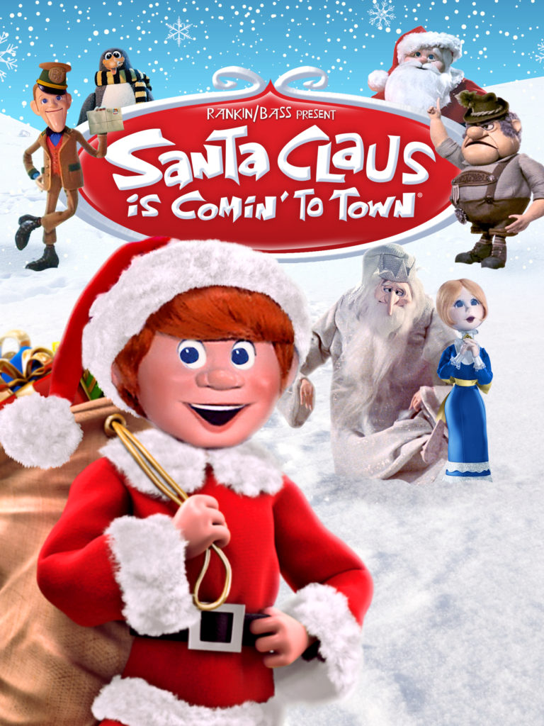 Christmas Specials: The poster for Santa Claus Is Comin' To Town (1970).