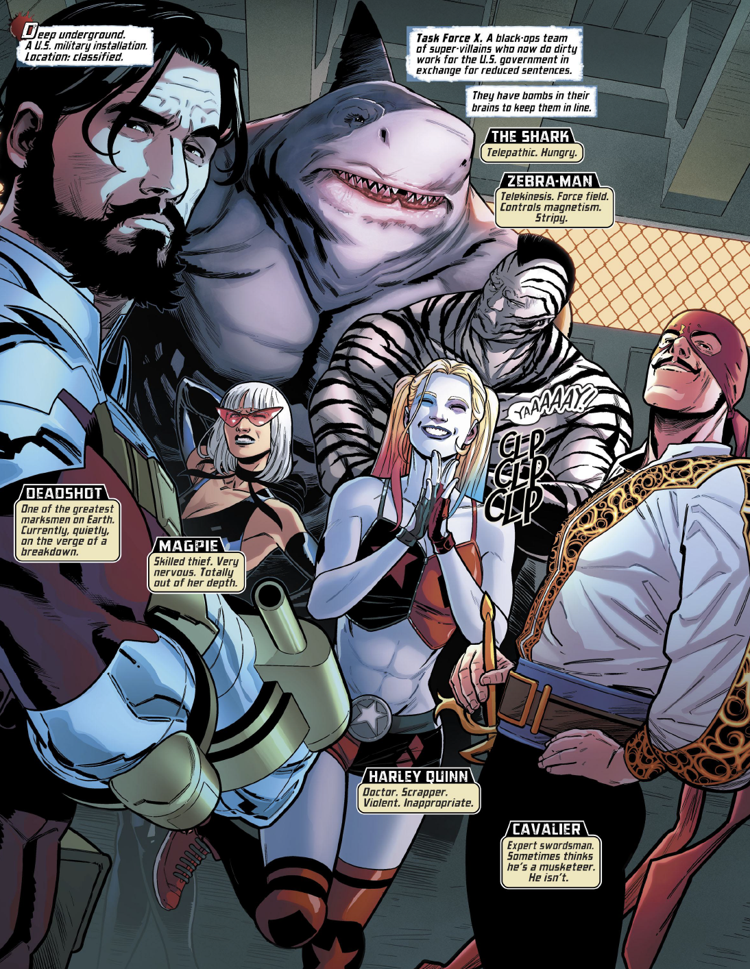 Page 12 of Suicide Squad #1