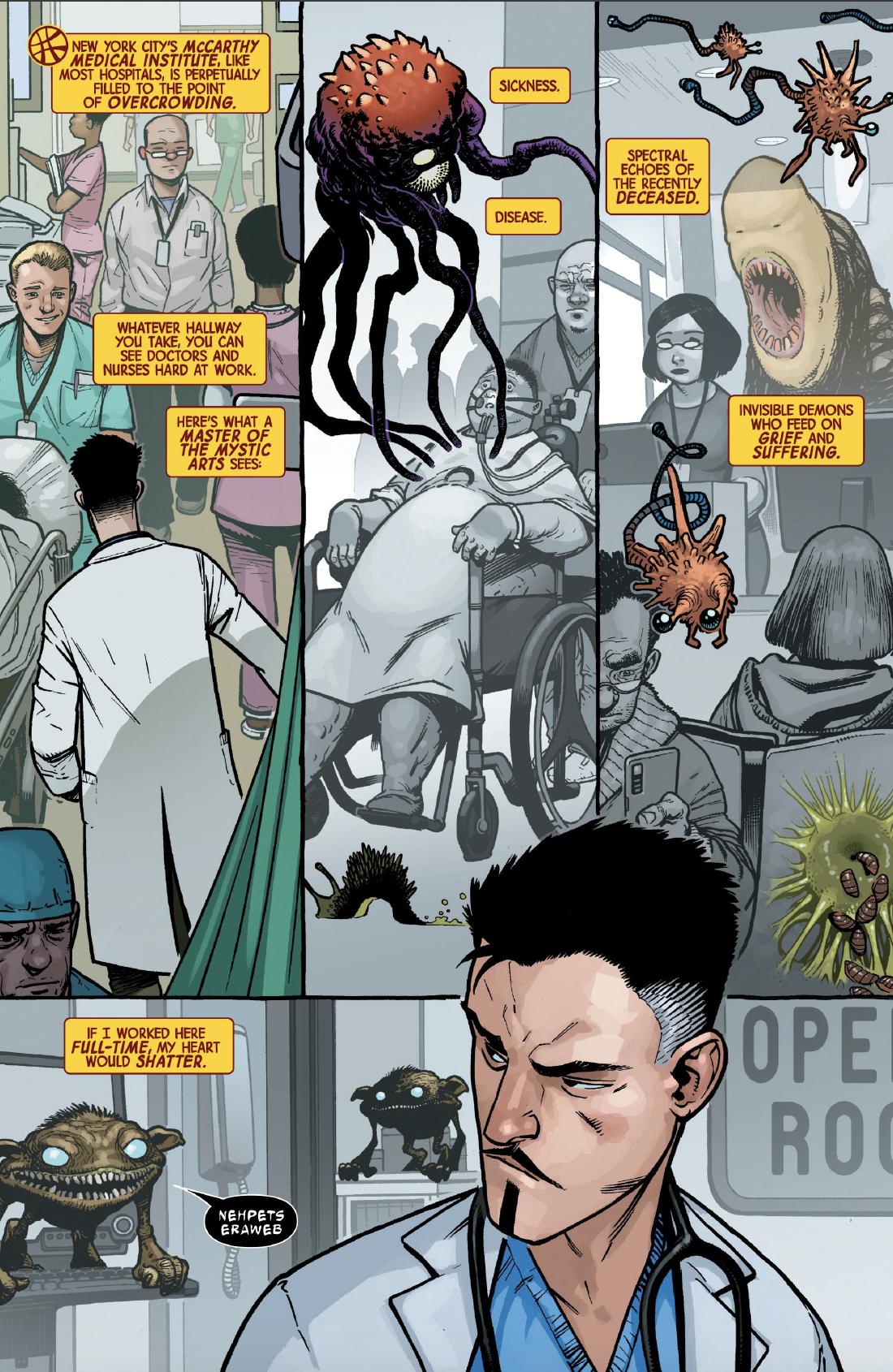 Page 4 of Dr. Strange #1