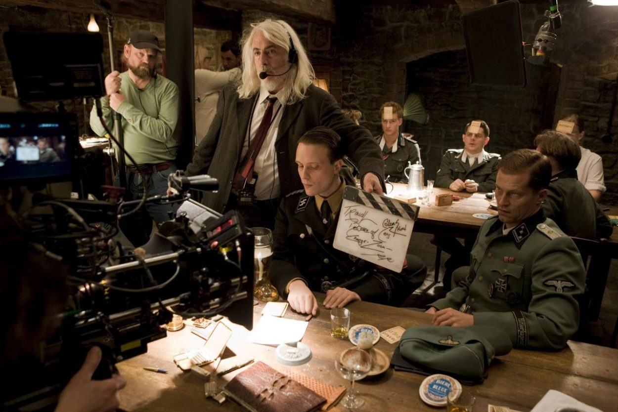 Behind the scenes in inglorious basterds.