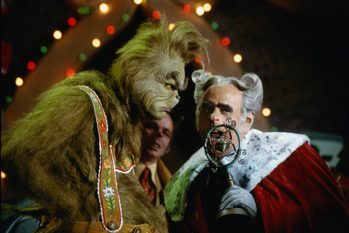 The Grinch and the Mayor.