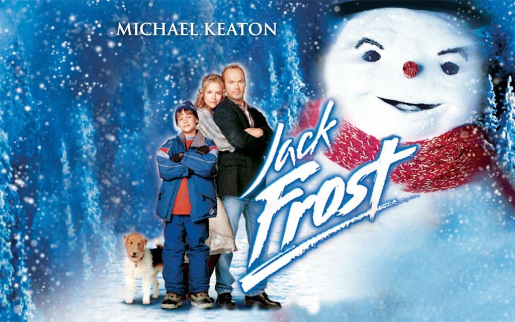 The poster for Jack Frost, 1998.