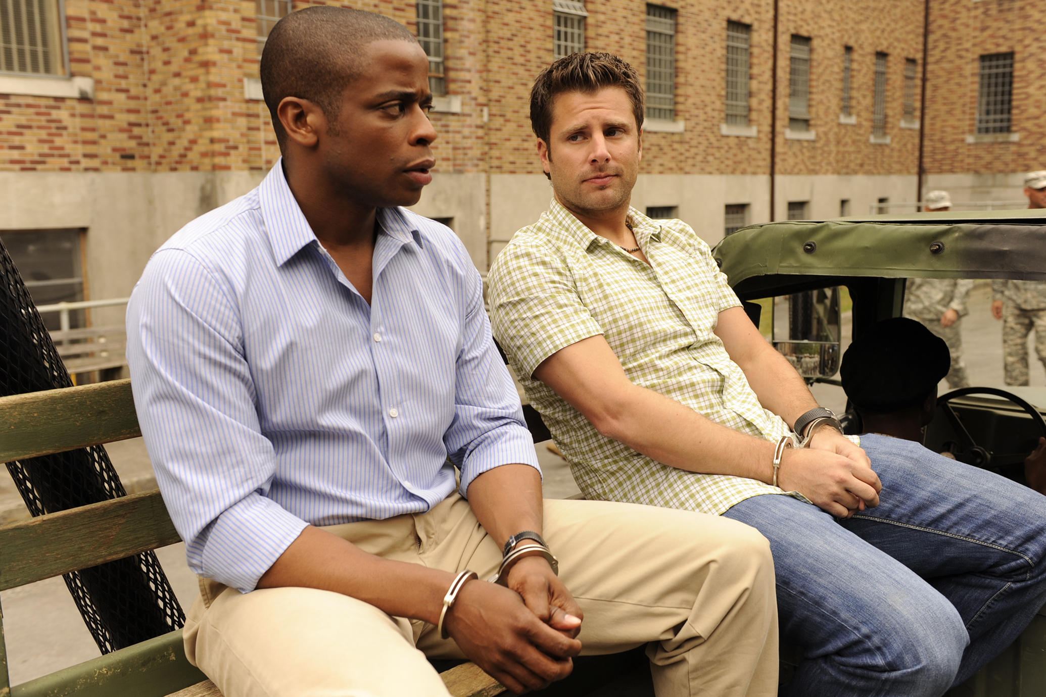 Shawn and Gus in popular binge-able show Psych.