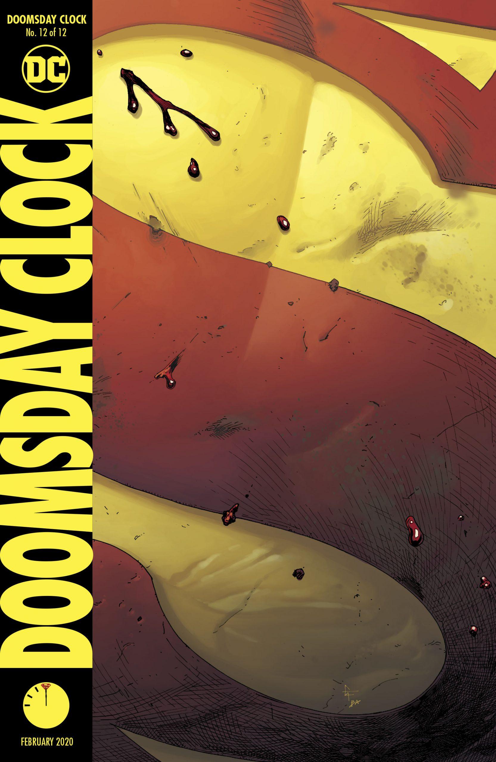 Doomsday Clock 12 Watchmen Sequel