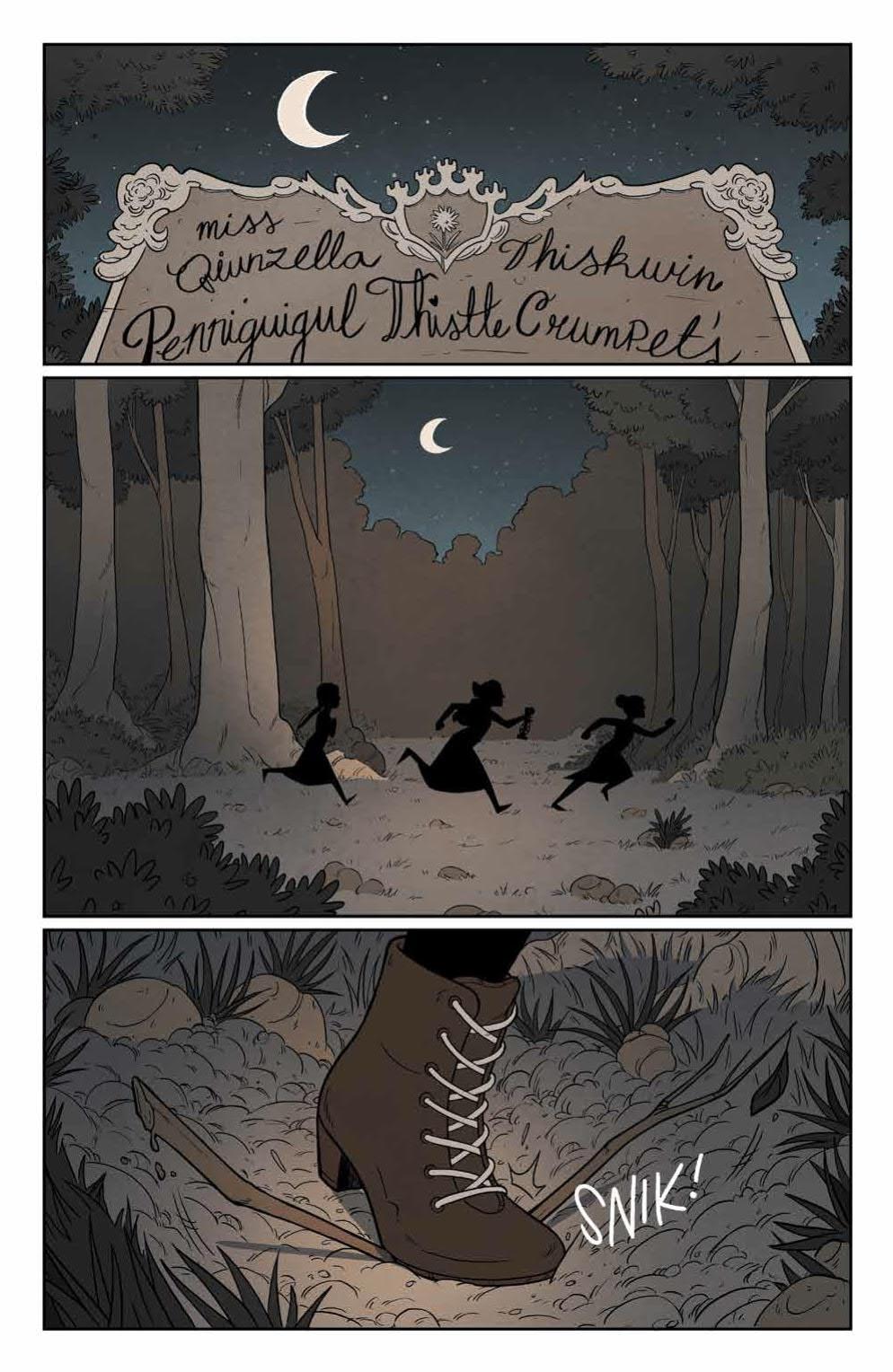 Page 3 of Lumberjanes #69