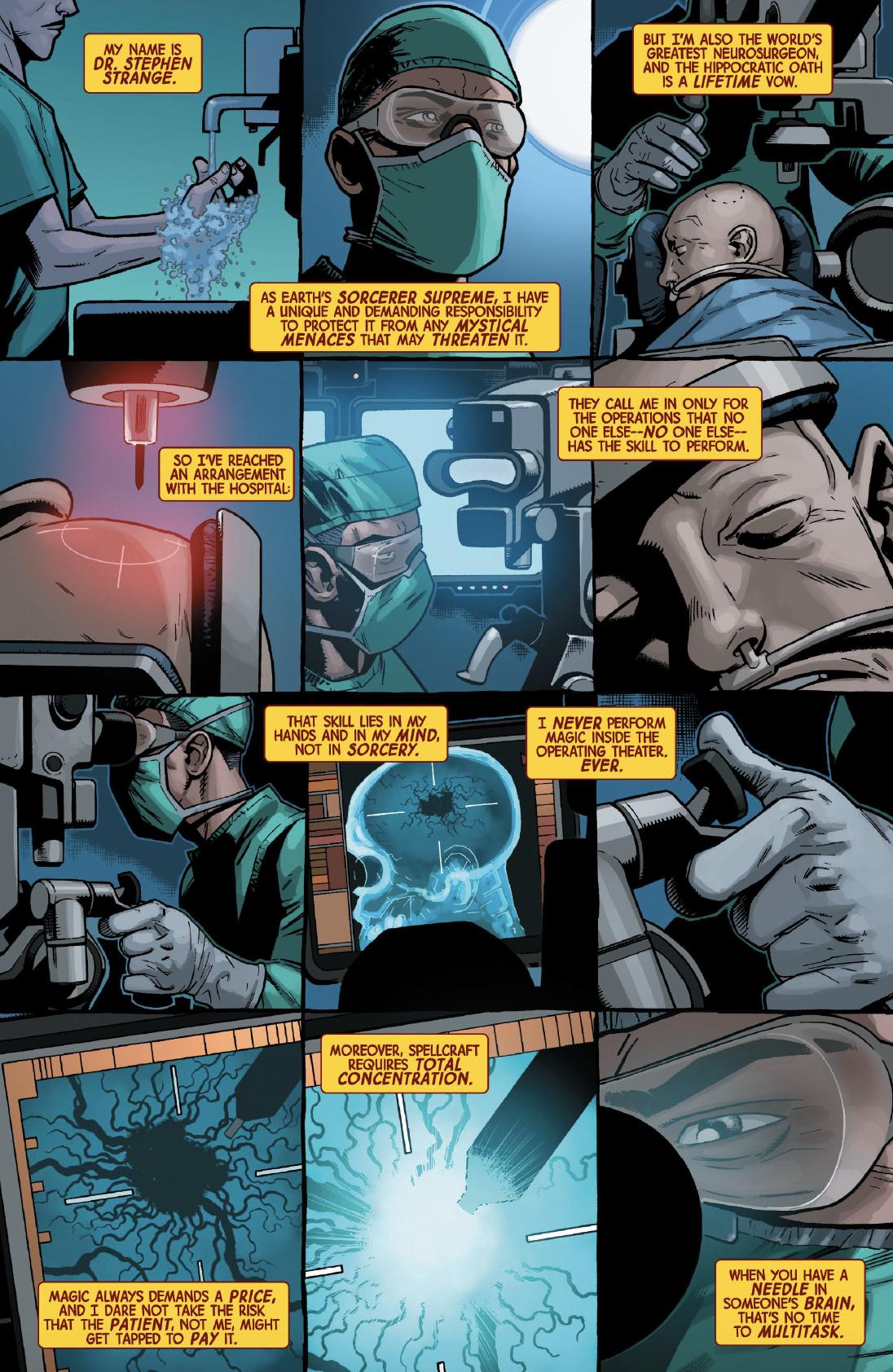 Page 5 of Dr. Strange #1