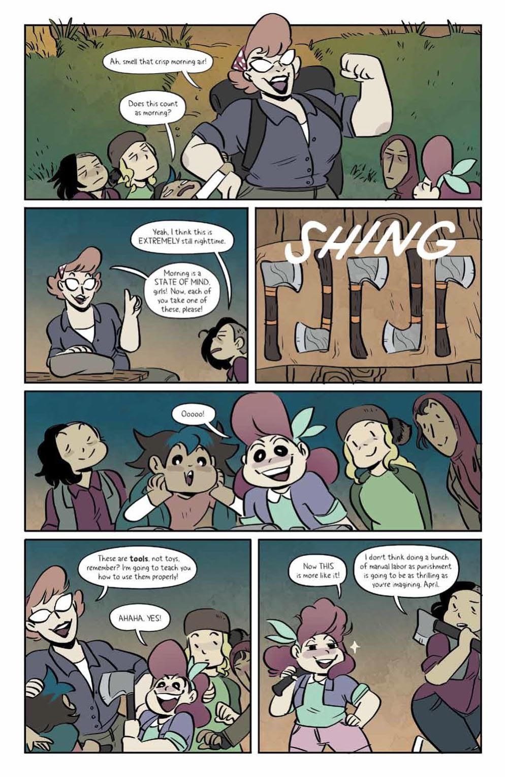 Page 6 of Lumberjanes #69