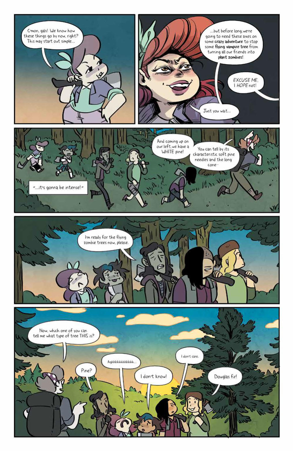 Page 7 of Lumberjanes #69