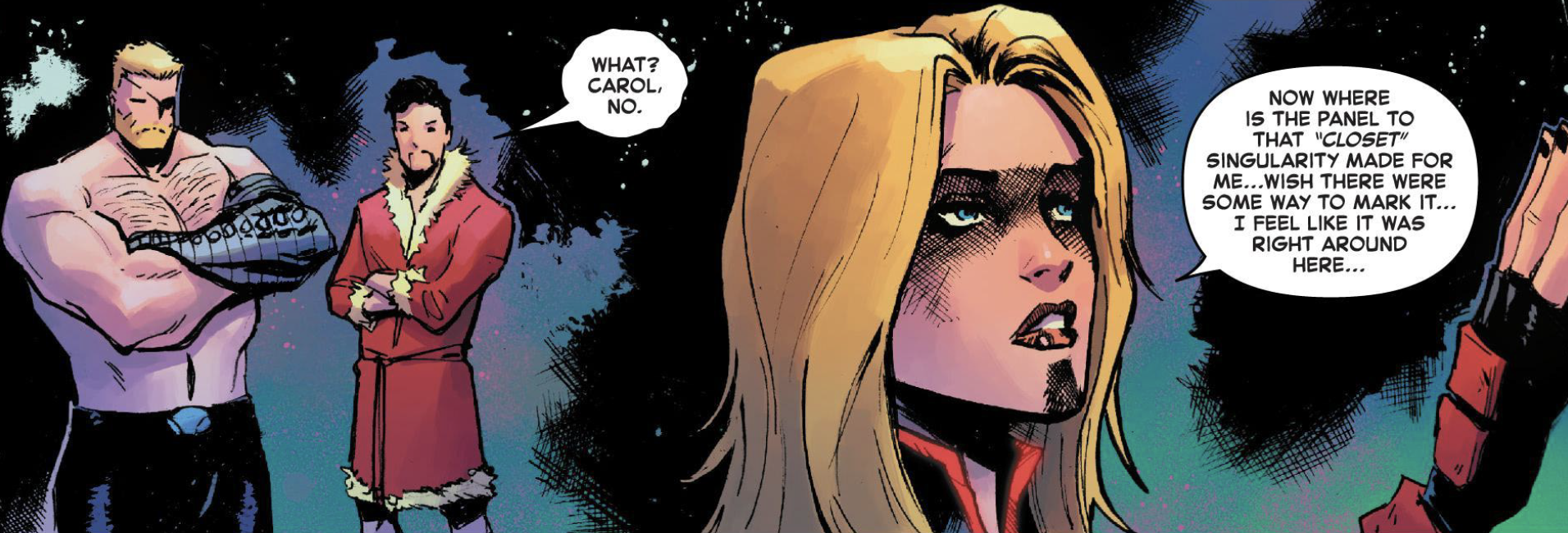 Page #4 of Captain Marvel #14.