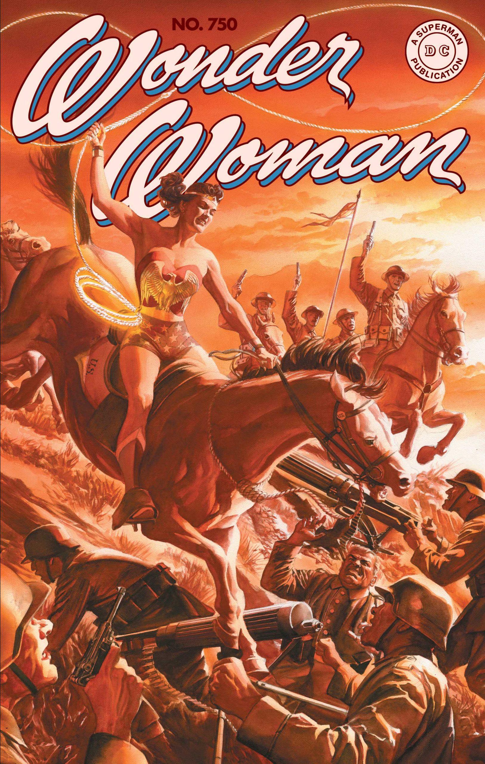 Wonder Woman #750, Alex Ross variant