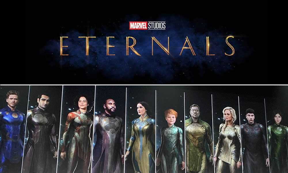 The Eternals titles and preview images of all of the characters