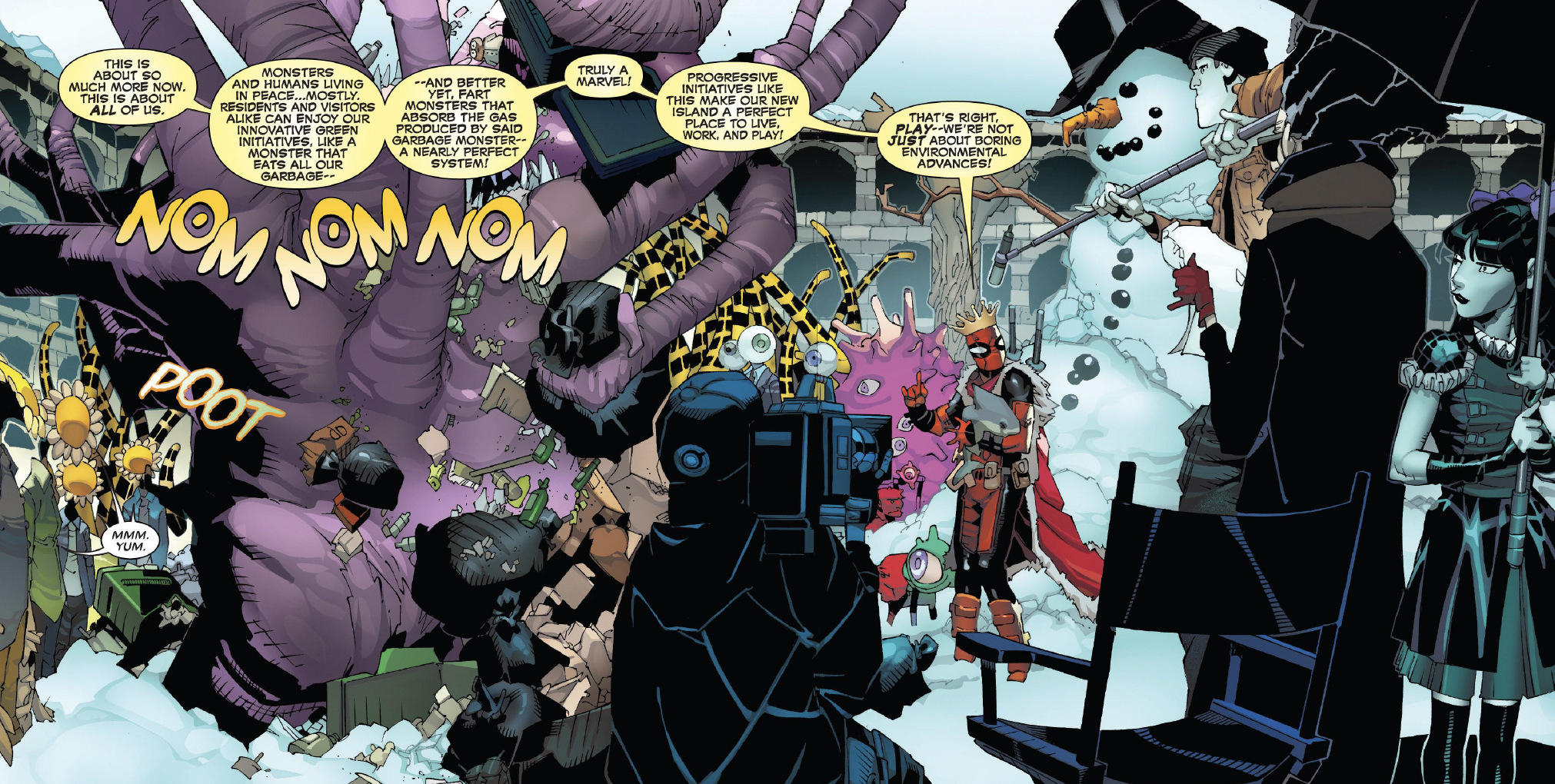 Page #4 of Deadpool #2.