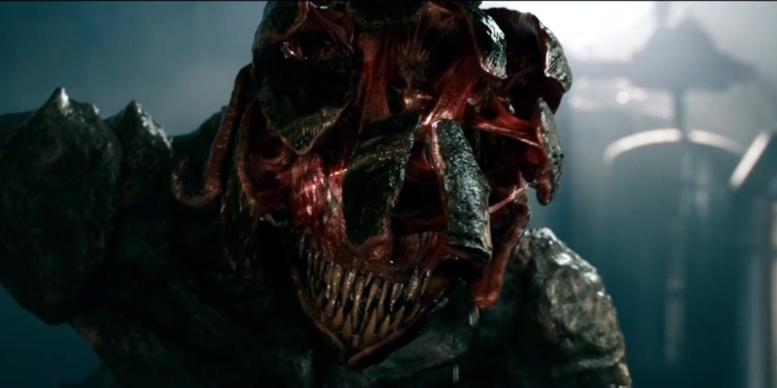 The monster from A Quiet Place.