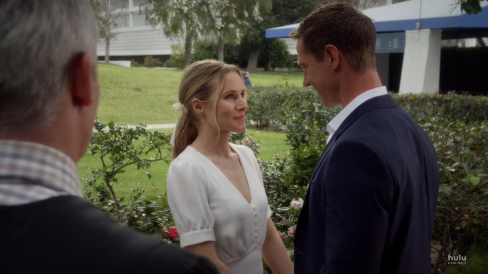 Veronica and Logan's wedding.