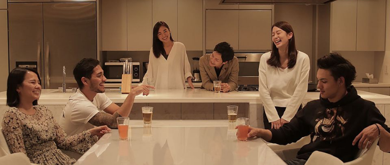 The cast of Terrace House: Boys & Girls in the City.