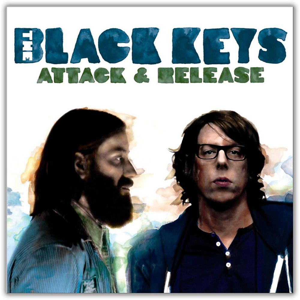 The Black Keys album Attack & Release 2008. Dan Auerbach (Left) and Patrick Carney (Right)