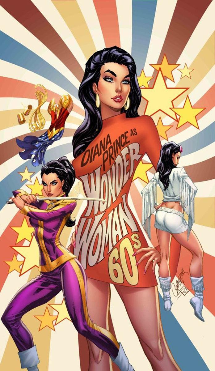 Wonder Woman #750, J. Scott Campbell variant