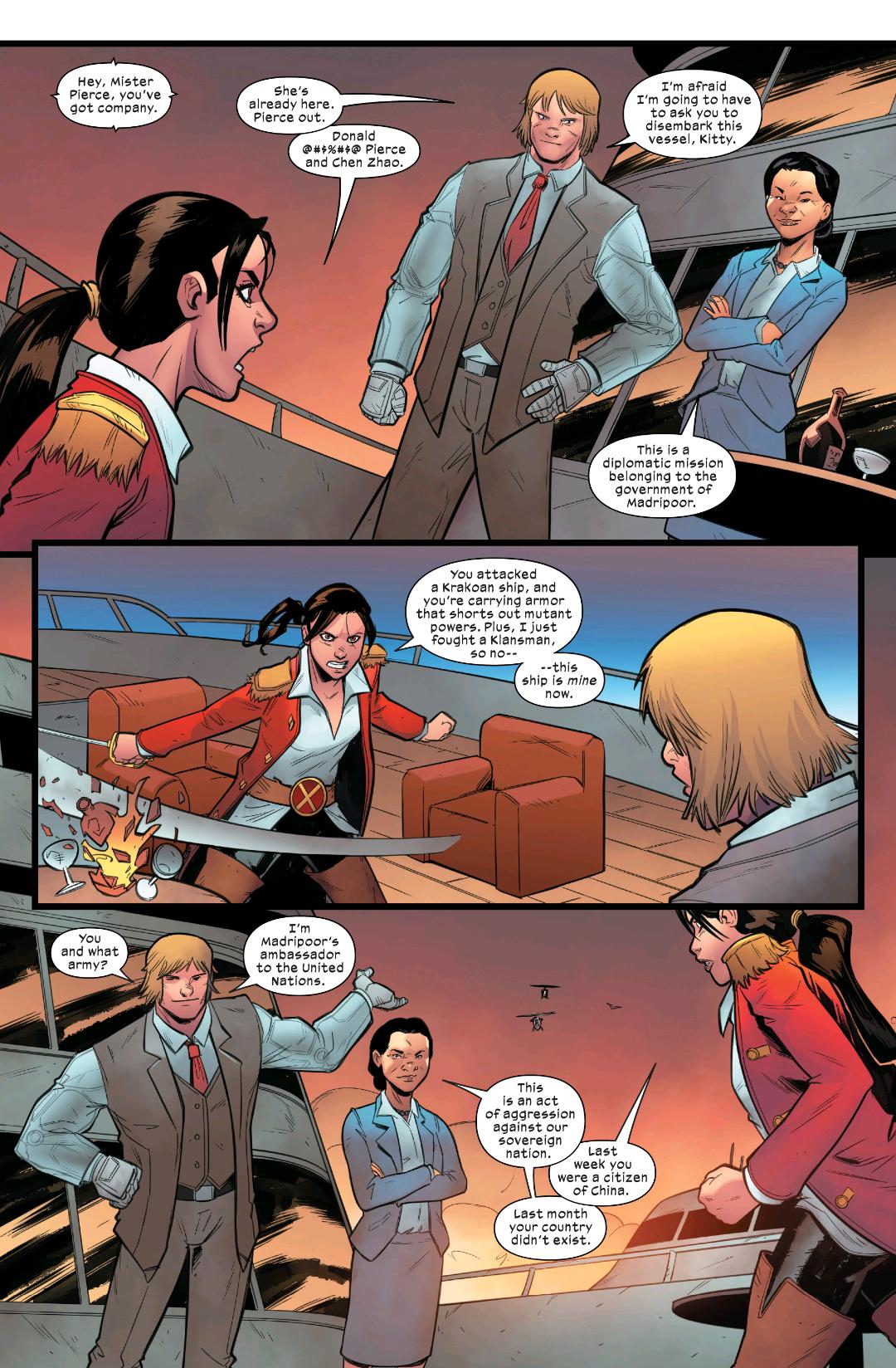 Marauders #6-Marvel 2020