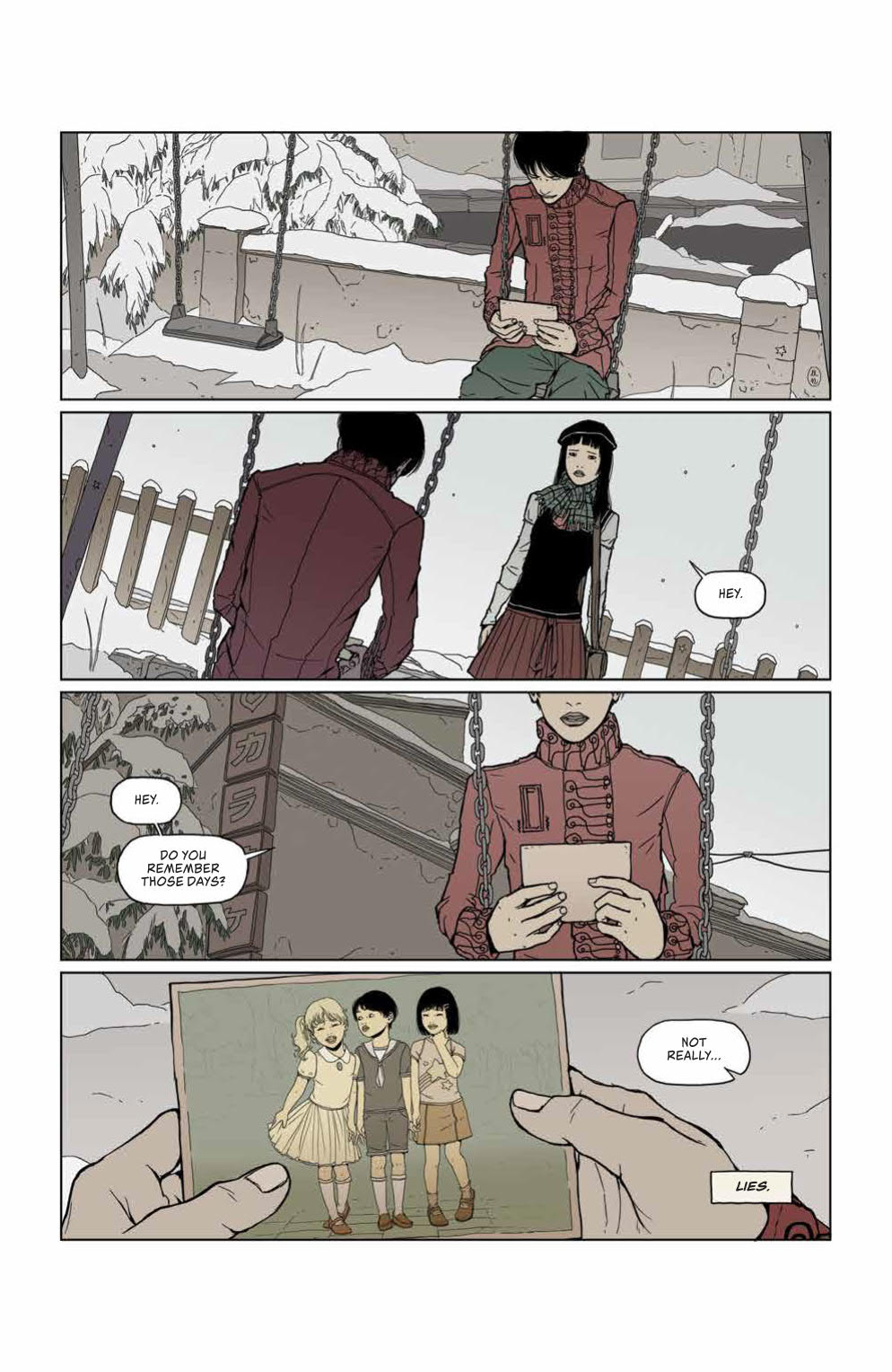 Page #6 of Heartbeat #3