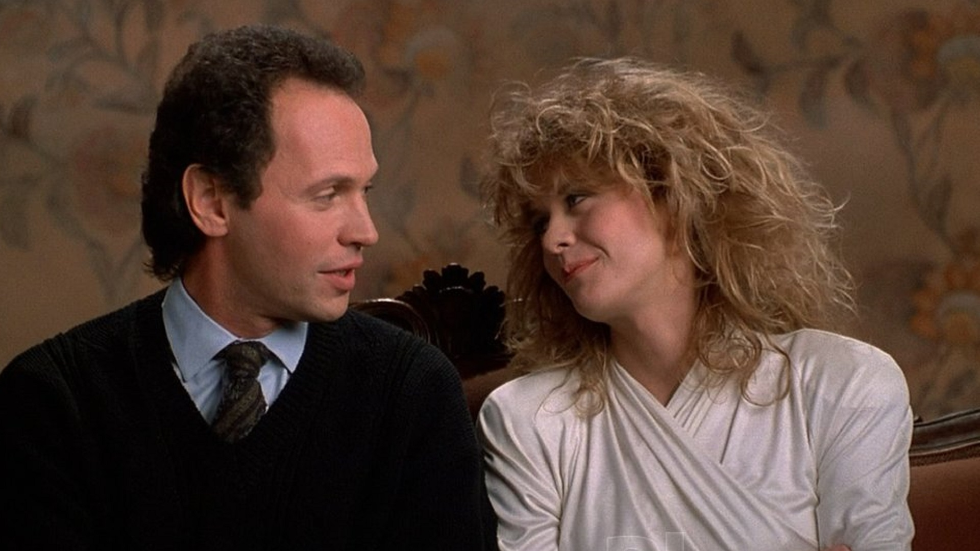 Billy Crystal and Meg Ryan in the decidedly not unromanticized When Harry Met Sally...