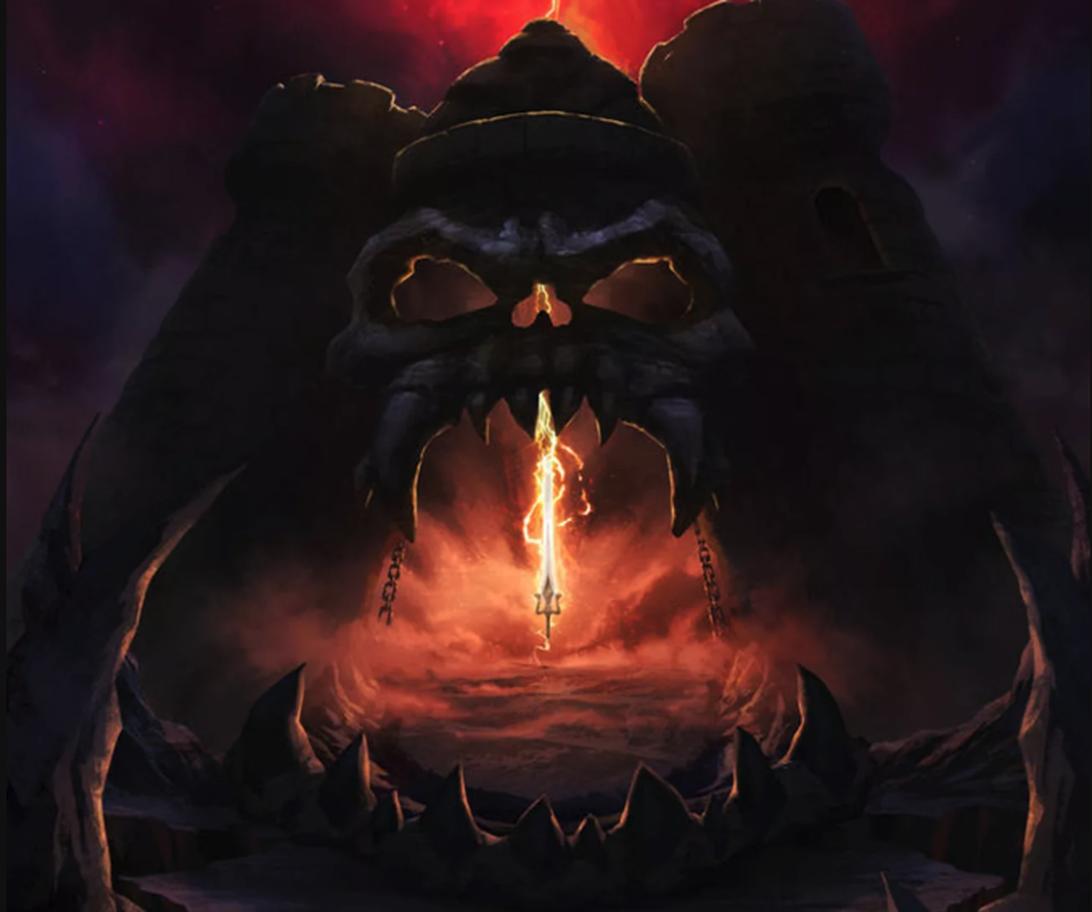 Castle Grayskull from Masters of the Universe: Revelation.