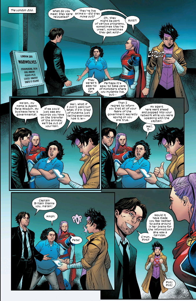 Excalibur #7 - Marvel Comics (2020)